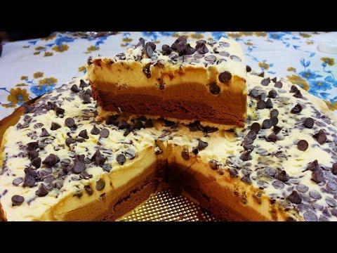 Ricetta torta gelato panna caff e cioccolato for Ricette di torte gelato