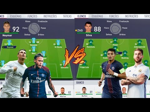 MELHORES DRIBLADORES VS MELHORES MARCADORES -  FIFA 18 EXPERIMENTOS