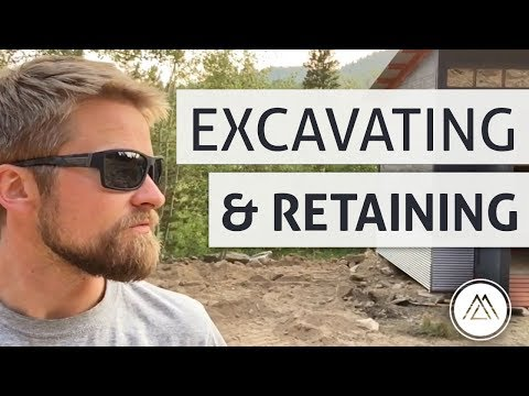 Excavating & Building a Retaining Wall (DIY Grizzly)