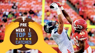 Top 5 Catches (Week 1 Preseason) | 2016 NFL Highlights