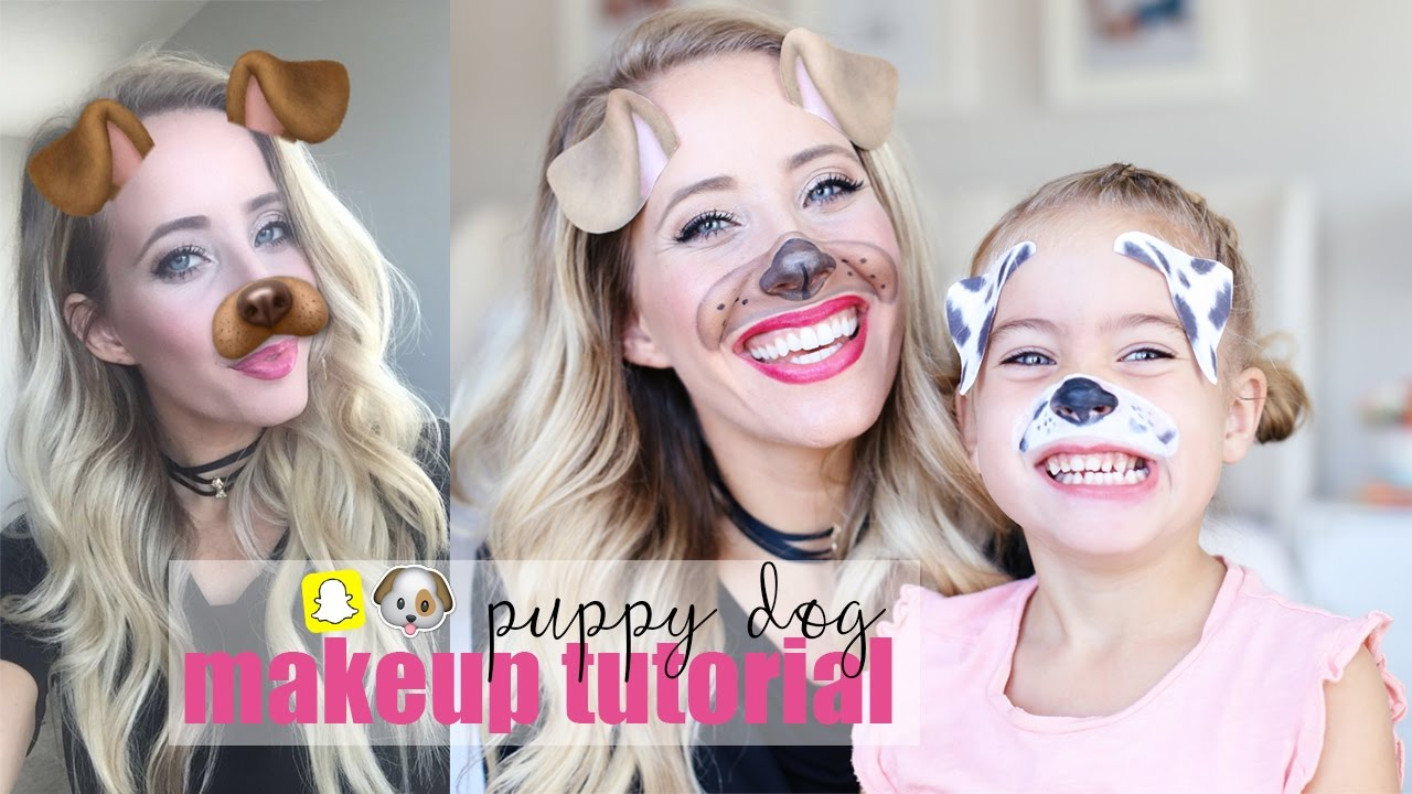 Puppy Dog Makeup Tutorial Snapchat Filter Youtube