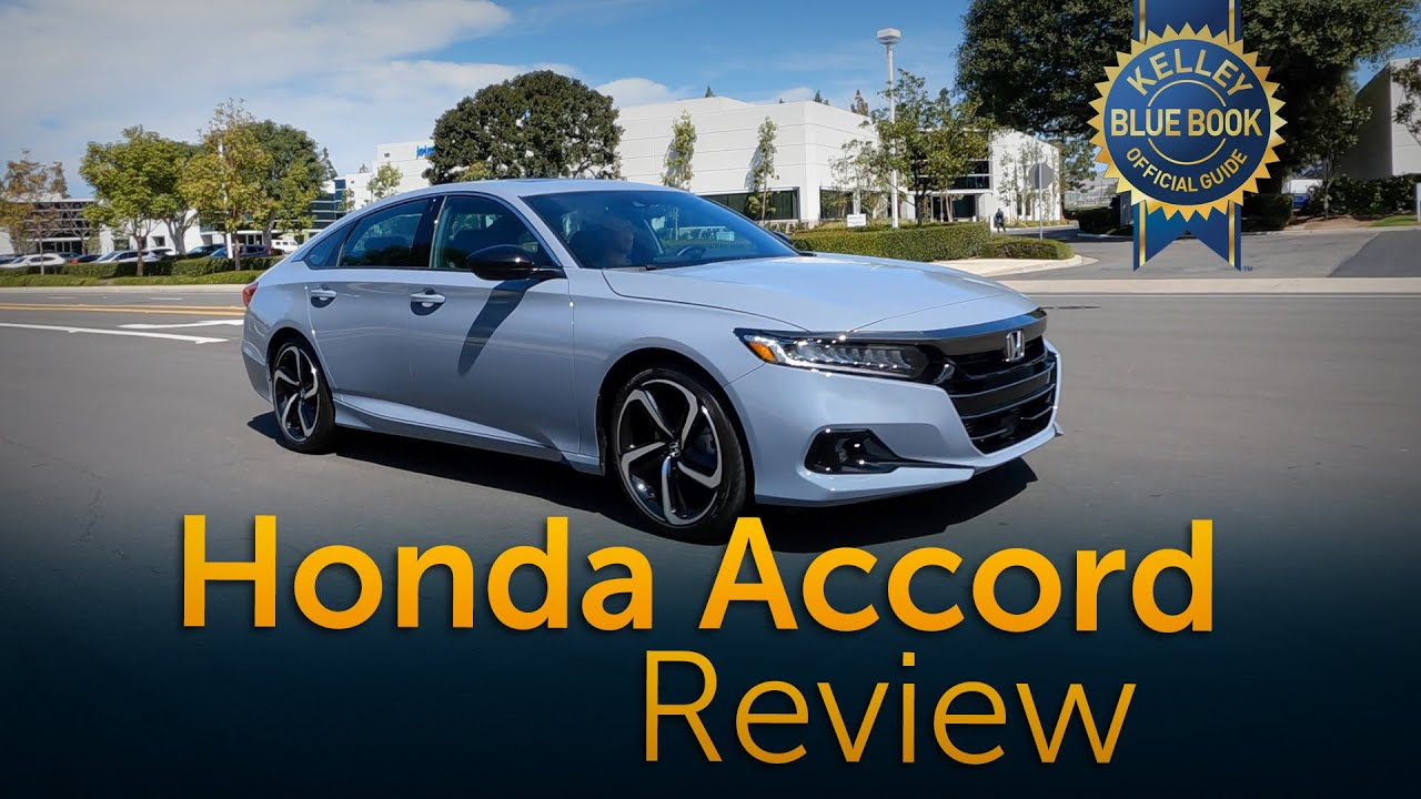 2021 Honda Accord Review Road Test Youtube