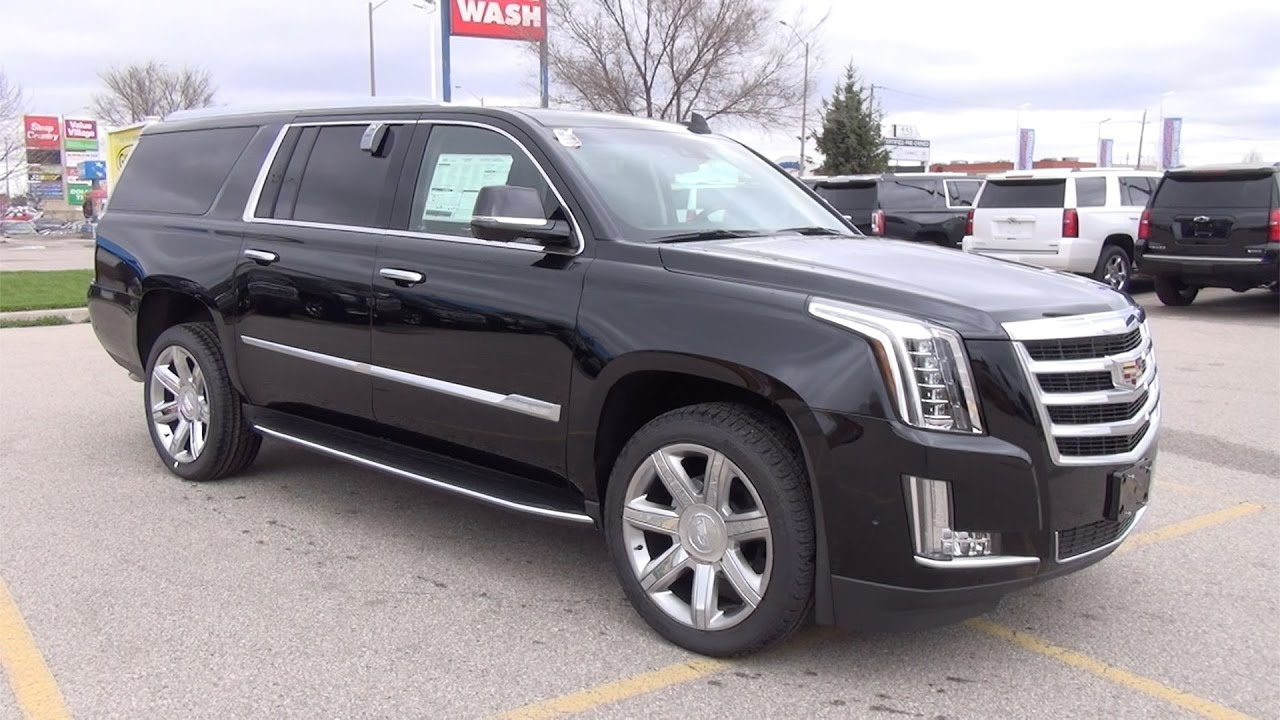 2017 Cadillac Escalade Esv 4wd Luxury Bennett Gm New Car Dealer