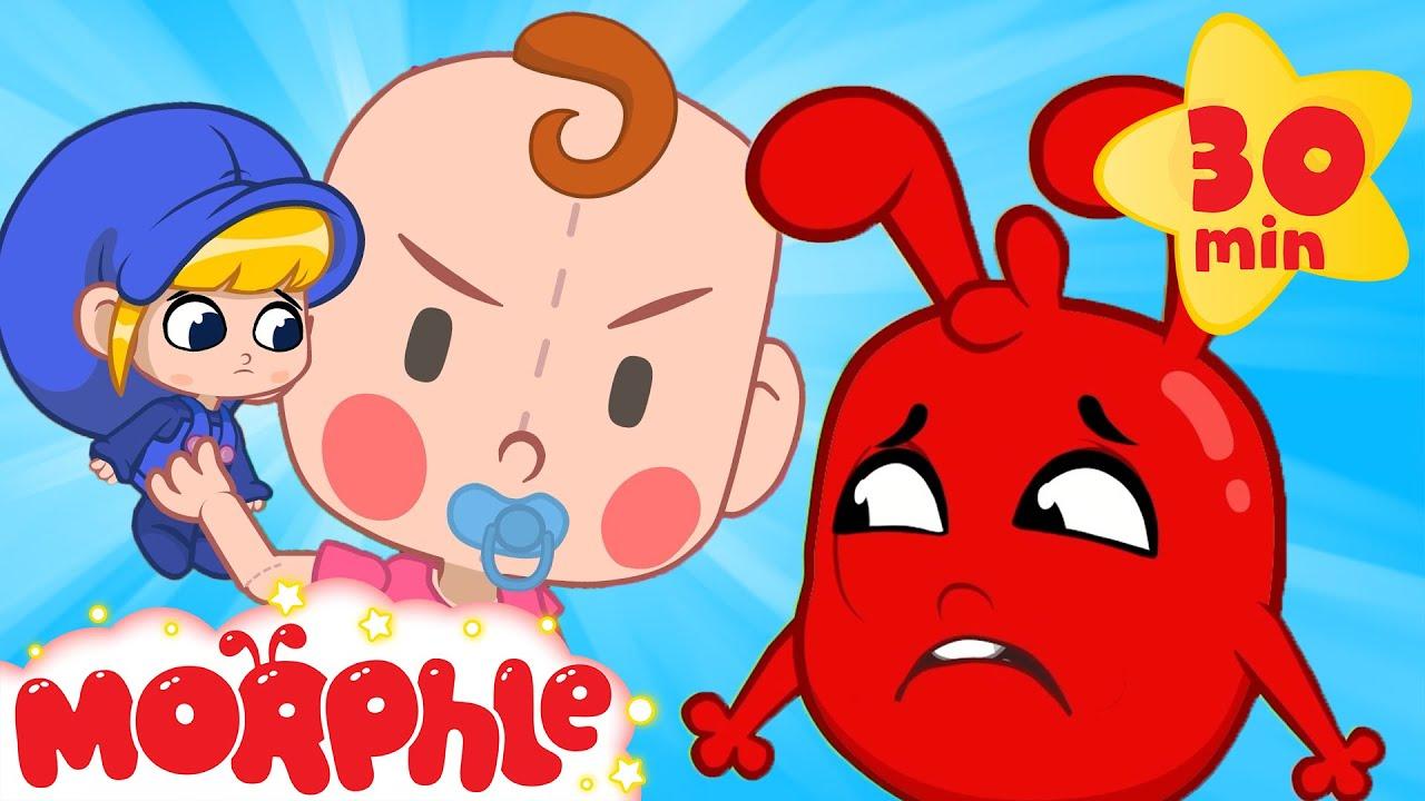 Giant Baby Kidnaps Mila! - My Magic Pet Morphle | Cartoons for Kids | Morphle TV