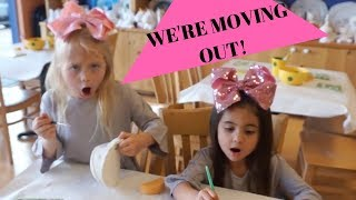 EVERLEIGH AND AVA ARE MOVING OUT WITH THE MCCLURE TWINS!!!