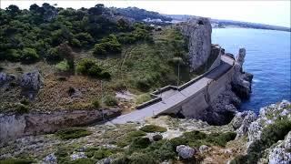Coste del Salento(localita' Nardo') viste dal drone