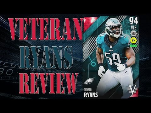 Season Veteran Demeco Ryans Review | Player Review | Madden 16 Ultimate Team Gameplay | MUT 16