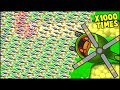 *FASTEST EVER* x1000 HELICOPTER MONKEY // Bloons TD Battles Hack/Mod (BTD Battles)
