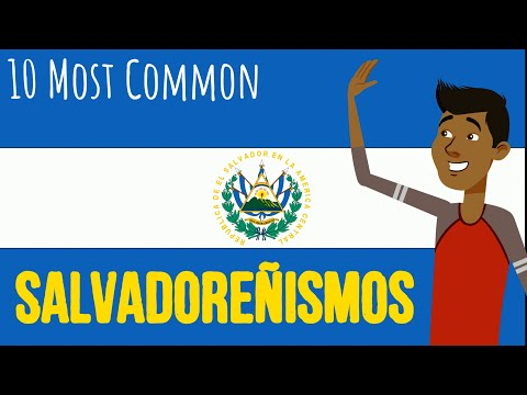 Salvadoran Spanish - Most common Words in Salvadoran Spanish