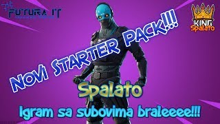 The NEW Starter Pack is here!!! -#Fortnite #Balkan #Live-AIM 6400 Subova + 1050 WIN!!! #474