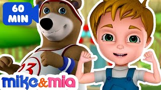 Head shoulders Knees and Toes | Kids Songs and Nursery Rhymes | Songs for Children by Mike and Mia