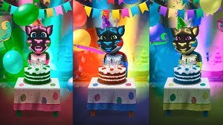 Colors Reaction Compilation My Talking Tom Great Makeover Funny Videos