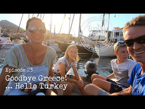 23. I Goodbye Greece.. Hello Turkey I Freedom Sailing