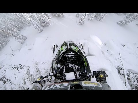 GoPro: Epic Snowmobile Drop
