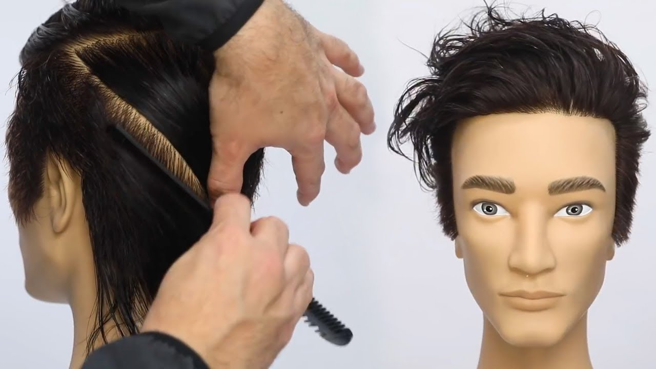 Modern Mens Bowl Haircut Tutorial with a Razor