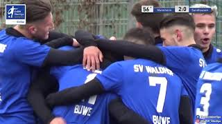 A-Junioren: 2:0 - SV Waldhof Mannheim - SV Sandhausen - Andi Bunjaku