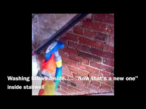Brick Cleaning Indoors YouTube