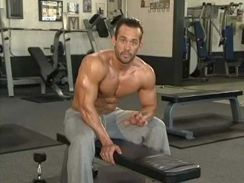 Jud Dean - Rear Delts & Seated Dumbbell Shrugs (Bodybuilding)