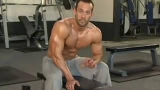 Jud Dean - Rear Delts & Seated Dumbbell Shrugs (Bodybuilding)
