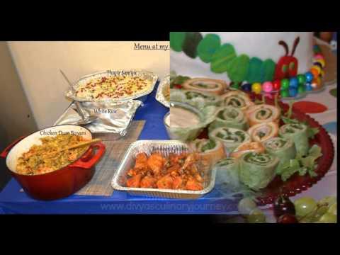 Easy 1st Birthday Party Food Ideas