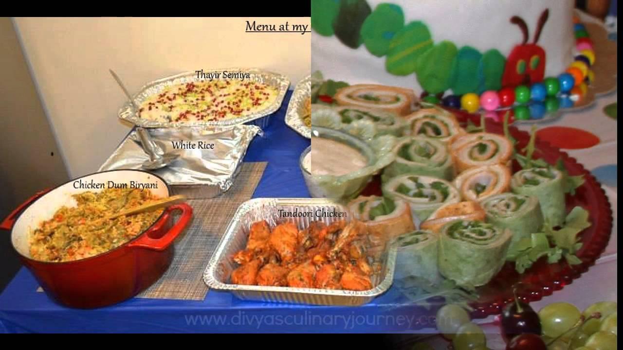 Easy 1st Birthday Party Food Ideas Youtube