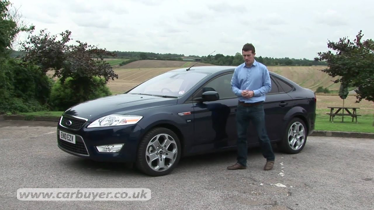 Ford Mondeo hatchback review - CarBuyer - YouTube