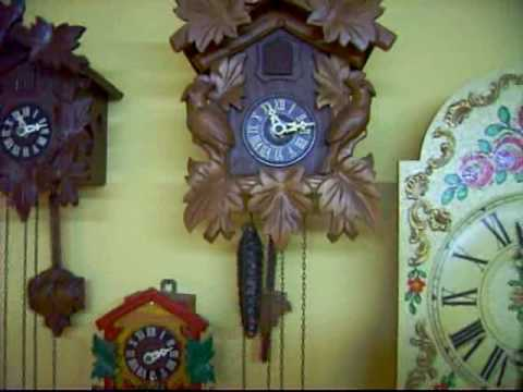 My clock collection (19th of May 2010) Part 1