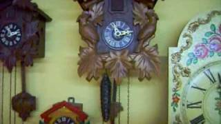 Repeat youtube video My clock collection (19th of May 2010) Part 1