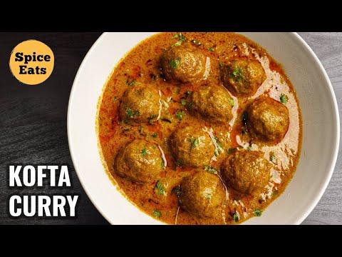 MUTTON KOFTA CURRY RECIPE | MEATBALL CURRY | KOFTA CURRY BY SPICE EATS