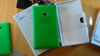 Распаковка Nokia XL: запуск и комплектация (unboxing)