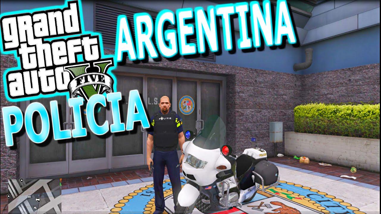 Policia Argentina Gta V Mods Argentinos Para Gta Gta 5