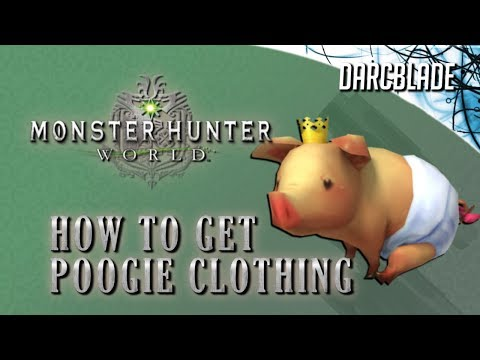 Poogie Costumes / Clothing : Monster Hunter World