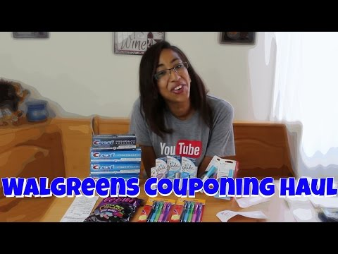 Walgreens Extreme Couponing Haul...