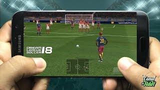 vuclip Dream League Soccer 18 Oficial, Criando Nosso Jogador + Uniforme Personalizado