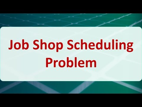 Job shop scheduling phd thesis