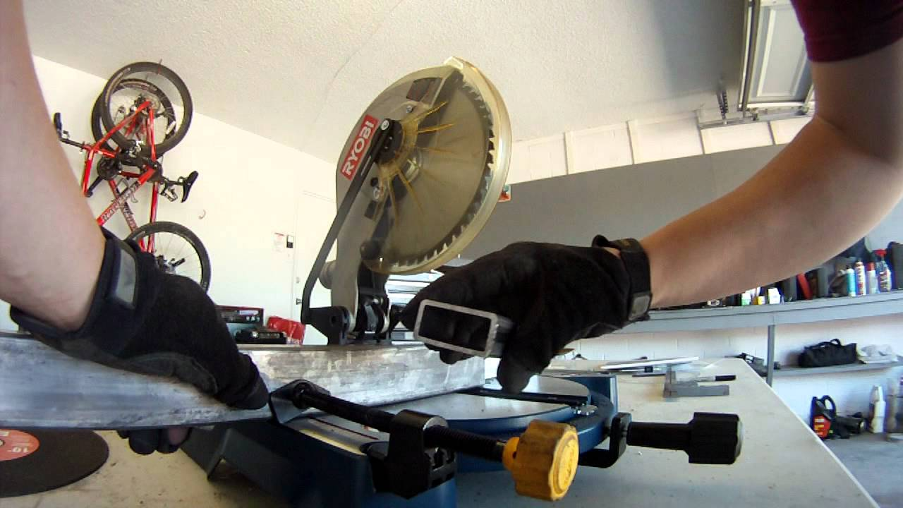Oshlun 10quot Steel Cutting Miter Saw Blade Youtube