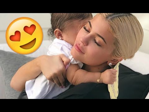 Kylie Jenner & Baby Stormi 😍😍😍 - CUTE AND FUNNY MOMENTS 2018