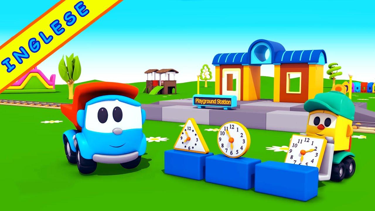 Cartoni animati per imparare linglese leo junior e la playground