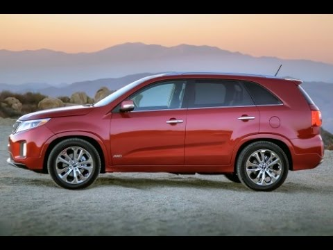 2015 Kia Sorento Start Up and Review 3.3 L V6