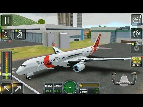 Flight Sim 2018 #2 - Airplane Simulator - Android Gameplay FHD