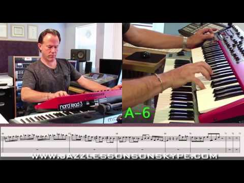 jazzlessonsonskype.com sample lesson: ...