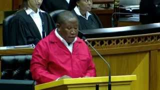 Julius Malema full SONA Debate Speech