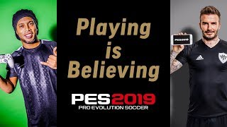 PES 2019 & PES 2019 Mobile - Legends Playing is Believing