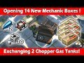 Opening 14 Mechanic Boxes + Exchanging 2 Chopper Gas Tanks! Last Day On Earth