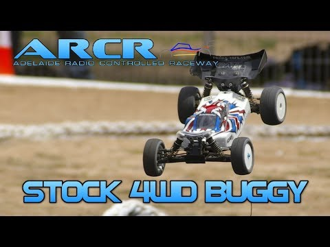 Stock 4WD A Finals - Round 4 - Adelaide Radio Control Raceway