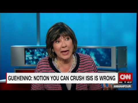 Guehenno to Trump  You cannot 'just crush' ISIS