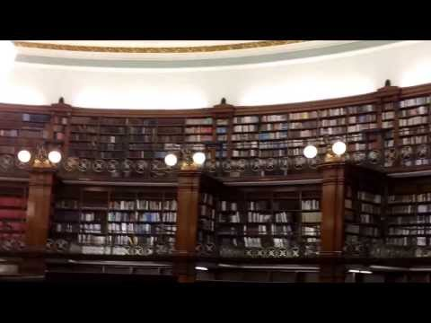 The newly refurbished Liverpool Central Library