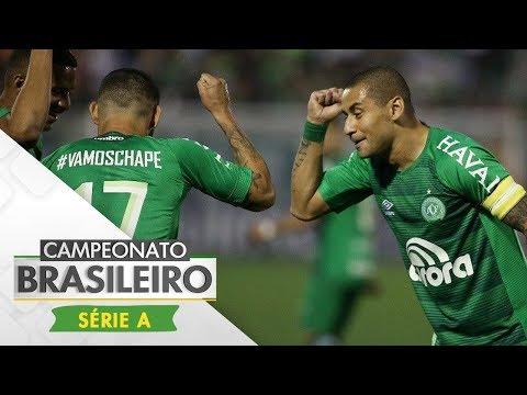Melhores Momentos - Chapecoense 2 x 0 Santos - Campeonato Brasileiro (13/11/2017)