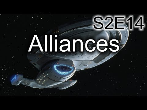 Star Trek Voyager Ruminations: S2E14 Alliances