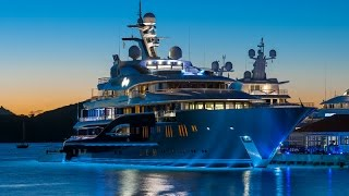 Magnificent Five Deck Lurssen Luxury Superyacht Solandge